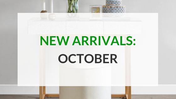 New Arrivals October