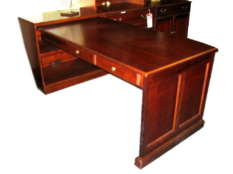 Suffield Cherry Peninsula Desk