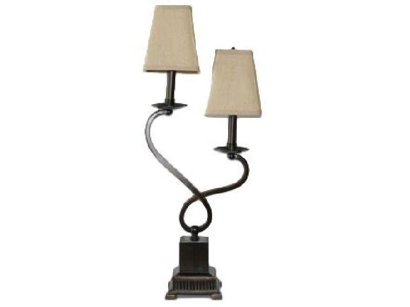 Dual Arm Infinity Table Lamp