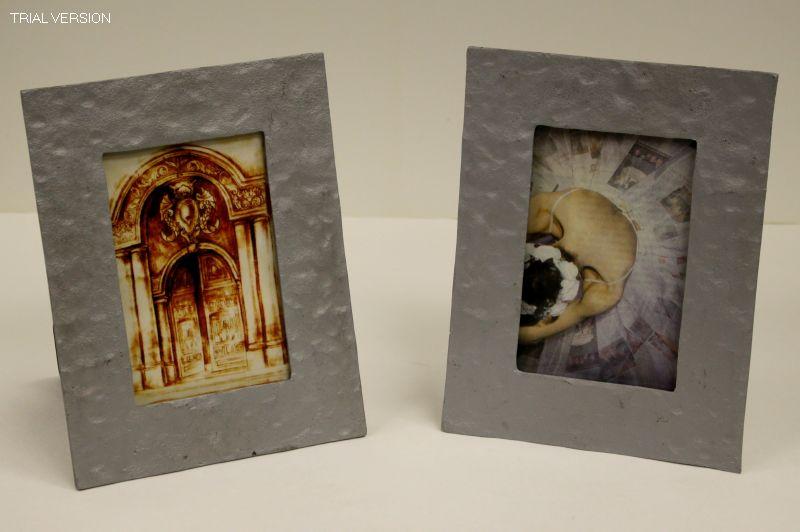 4 x 6 frame silver