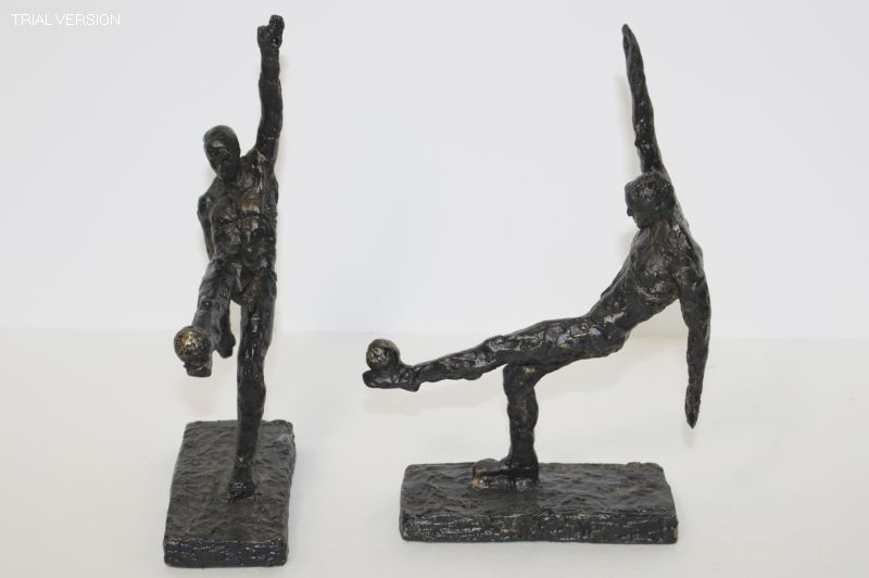 BOOK END SOCCER PAIR